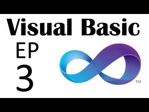 Visual Basic - The Basics - Part 3: Variables