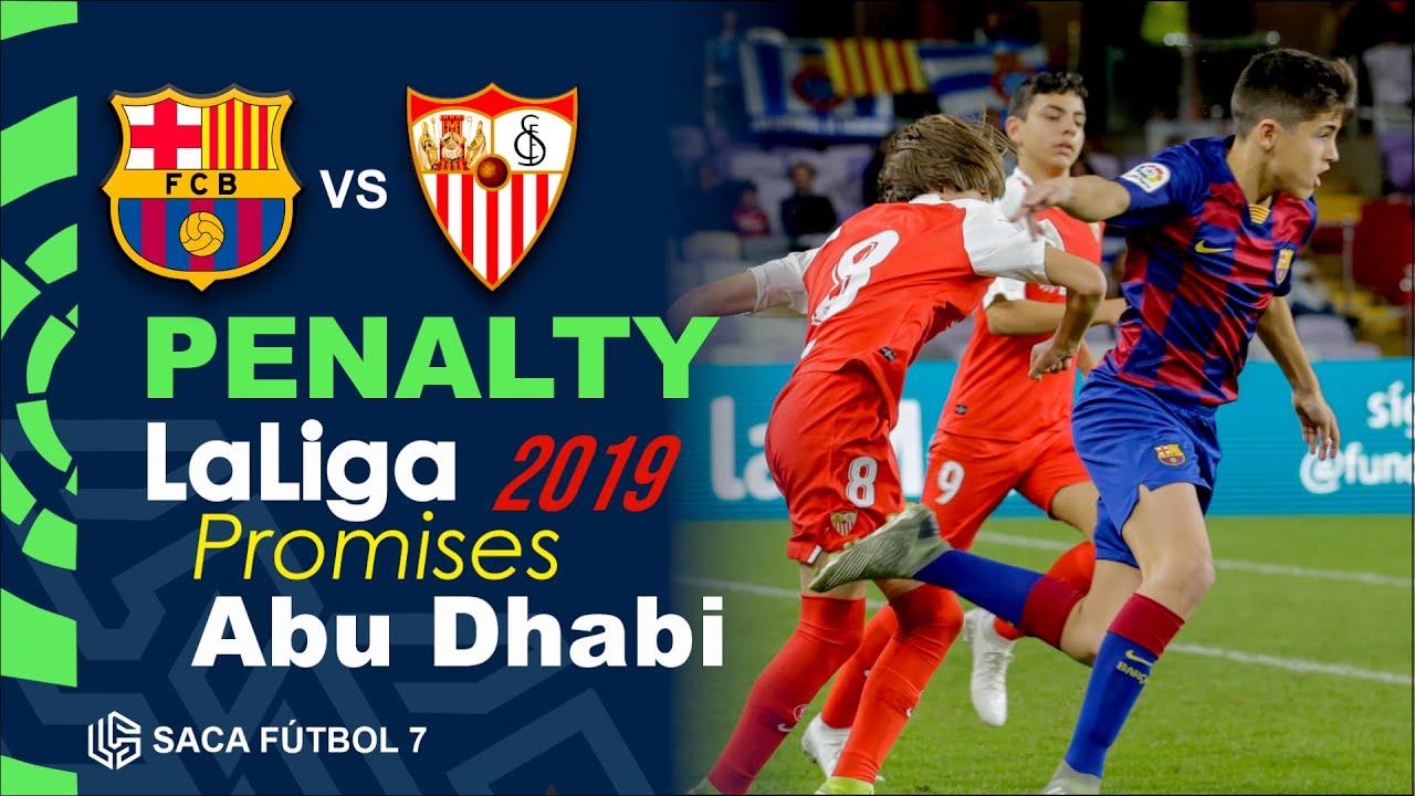 Penalty Barcelona vs Sevilla LaLiga Promises Abu Dhabi 2019