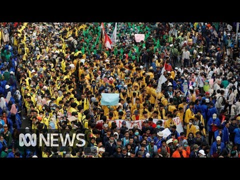 Xxx Mp4 Thousands Protest In Indonesia Over New Morality Laws ABC News 3gp Sex