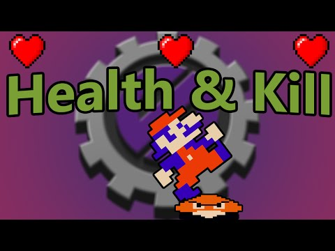 Game Maker Studio Tutorial: Arcade Platformer Part 4 (Killing enemies & Health) [OLD]