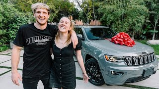 SURPRISING ASSISTANT WITH HER DREAM VEHICLE!