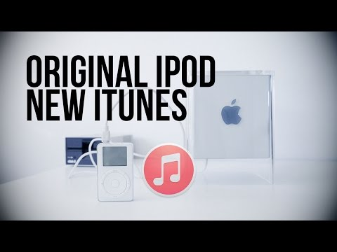 Original iPod with Newest iTunes - New Tech Old Tech