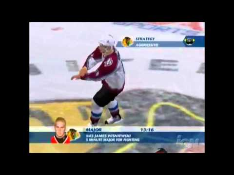 The Evolution of Fighting Engines in the NHL Video Game Series