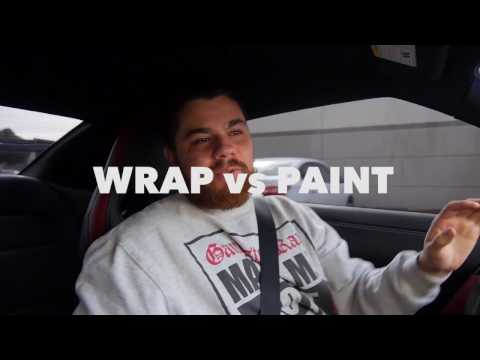 Car Wraps vs. Paint (Wrappers Rant)