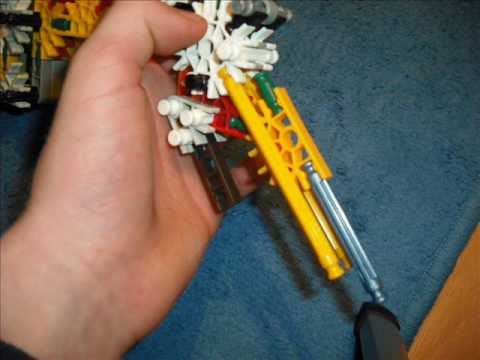 knex gun with removable magazine    (instructions)