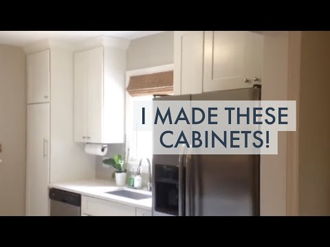 DIY Kitchen Renovation -- I Make My Own Cabinets!