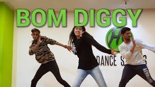 Bom Diggy - Zack Knight x Jasmin Walia   Hip Hop Dance   HY Dance Studios