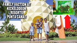 FAMILY VACATION AT NICKELODEON RESORT!! *WE GOT SLIMED*