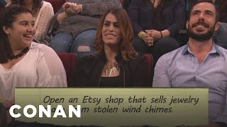 Audience New Year's Resolutions: Stolen Etsy Wind Chimes Edition