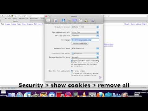 how to remove cookies from safari quickly