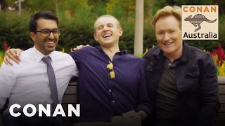 Conan Hangs Out With His Good Mates In Sydney - CONAN on TBS