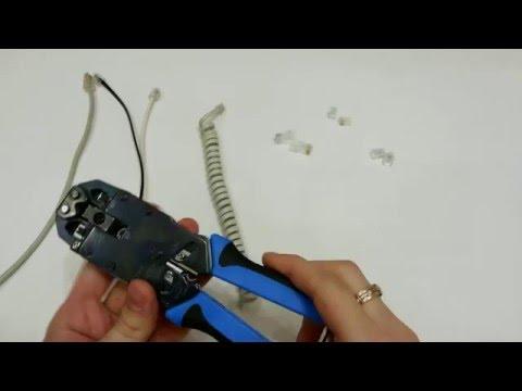 Comment Monter Et Tester Un Boitier Mural Rj45 Pour Réseau