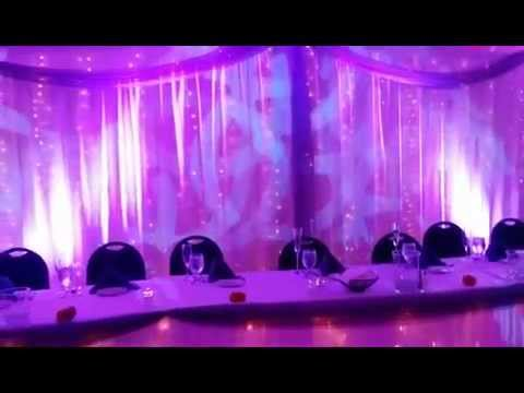 Black Tie Entertainment Up-Lights at Chenoweth Banquet Hall in Akron Ohio