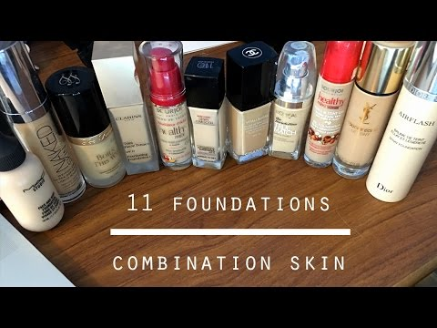 11 Best Foundations for Combination (Oily, Dry & Acne prone skin) + SWATCHES