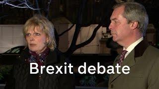 EU referendum debate: Anna Soubry and Nigel Farage