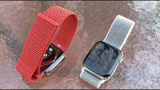 f72f08bbaf8c6b Apple Watch Sport Loop   Band Review   Unboxing