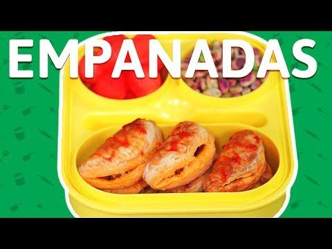 Baked Chicken Empanadas - How To Make Chicken Empanadas - Chicken Recipe For Kids Tiffin Box
