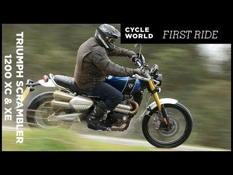 2019 Triumph Scrambler 1200 XC And XE First Ride