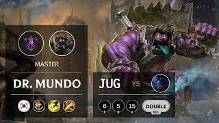 Download Dr. Mundo Jungle vs Rek'Sai - KR Master Patch 9.18 Video