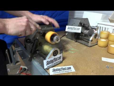 Quad Roller Skate Wheel Regrooving for Mike from North Carolina