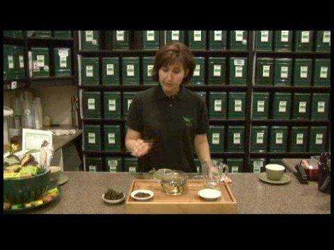 Brewing Loose Leaf Tea : Brewing Oolong Tea