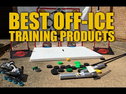 The Best Off-Ice Hockey Training Products - Improve skating, shooting & stickhandling from home