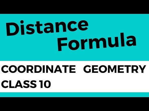 Coordinate Geometry Class 10th Mathematics - ex 7.1 - How to find distance between two points