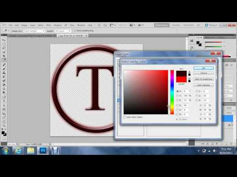How to Create a Youtube Logo with Photoshop CS5