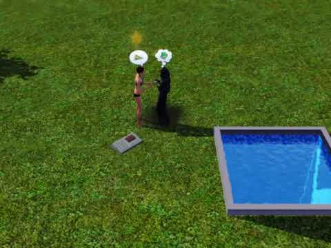 Sims 3- sim drowning