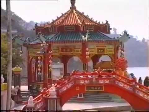 German tourist visit Hong Kong & Cheung Chau Island in 1990