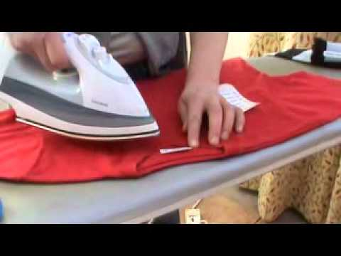How To Iron On Name Tags For Clothing