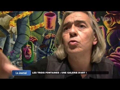 Les Trois Fontaines : une galeried'art ! (Cergy)