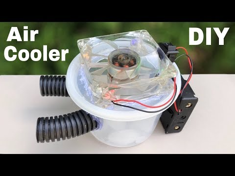 How to Make Mini Air Conditioner at Home - Tutorial