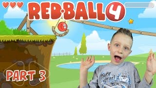 RED BALL4, levels 8-11 - follow my red ball as I complete more levels   KID GAMING Android
