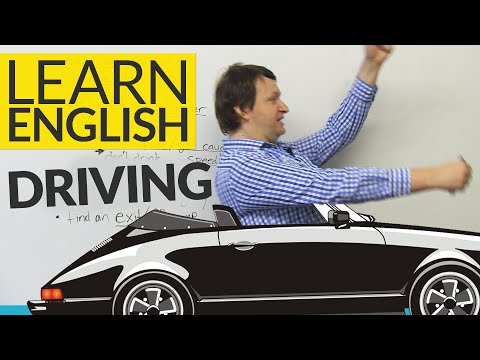Learn English Vocabulary: Talking about HIGHWAY DRIVING
