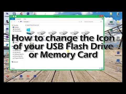 How to Change Drive icon of Pendrive   Storage Device