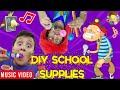 Candy (DIY School Supplies) 🎵 Raptain Hook (FV Family Vlog Song)