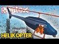 Melarikan Diri Dengan Helikopter ! - Roblox Indonesia