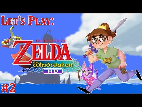The Legend of Zelda: Wind Waker HD Stream Let's Play - Part 2