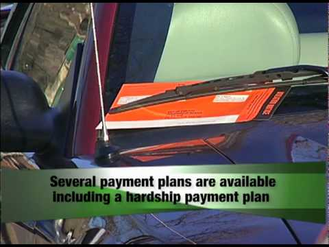 Parking Ticket Payment Options