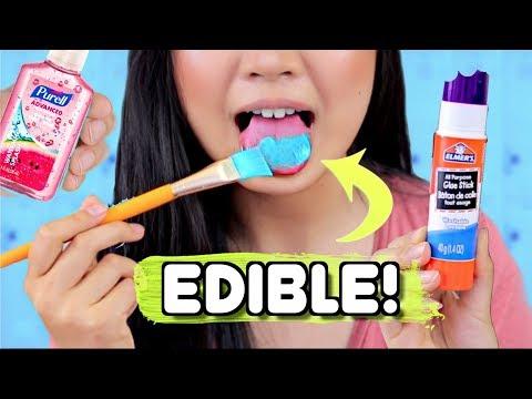 DIY EDIBLE SCHOOL SUPPLIES !! Weird Pranks for School | JENerationDIY