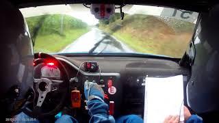 Rallye du Bocage 2017 ES7 - caméra embarquée Piau/Laforge