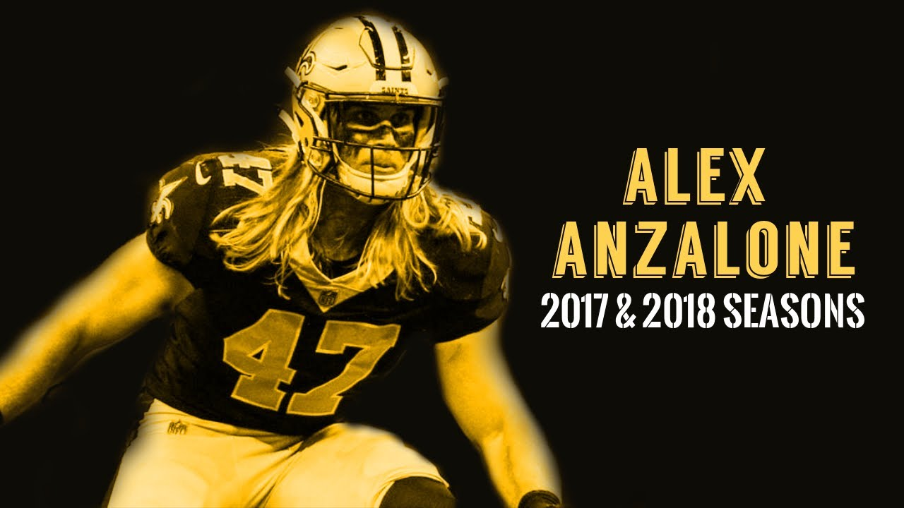 "Alex Anzalone 2017 & 2018 Highlights | ""Thor"" ᵂᴰ⁴ᴸ"