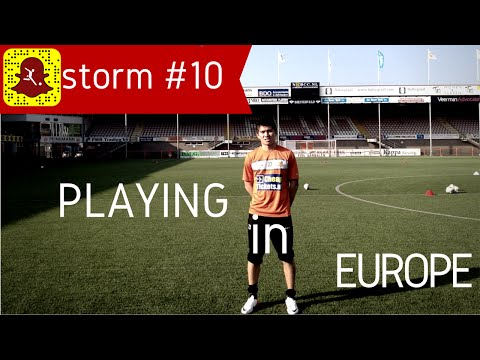 What It's Like As a Foreigner Playing Football in Europe