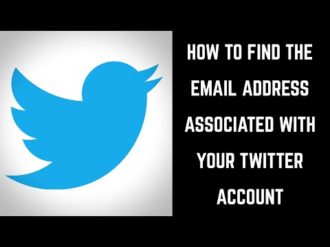 How to Find the Email Address Associated with Your Twitter Account