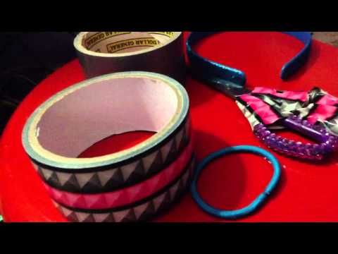 DIY #2 Duct Tape Bows! Funny Suprise at END!