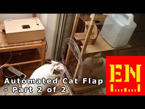 Auto Cat Flap - part 2 of 2 - Completion and testing