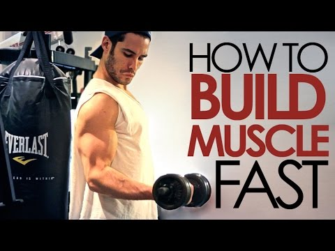 How to Build Muscle (5 Easy Steps)