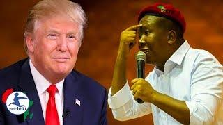 Julius Malema No Nonsense Response to Trump