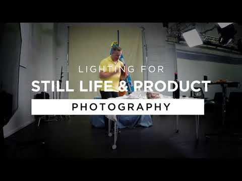 Lighting for Still Life and Product Photography with Steve Hansen